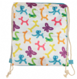 Balloonies Balloon Animals Drawstring Bag